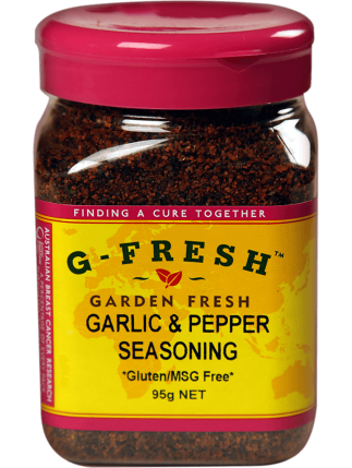 Garlic and Pepper Seasoning