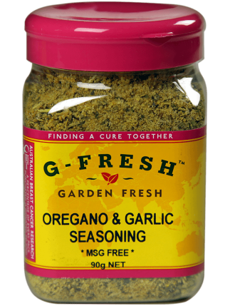 Oregano and Garlic Seasoning