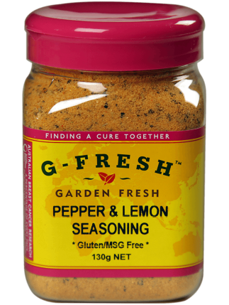 Pepper and Lemon Seasoning