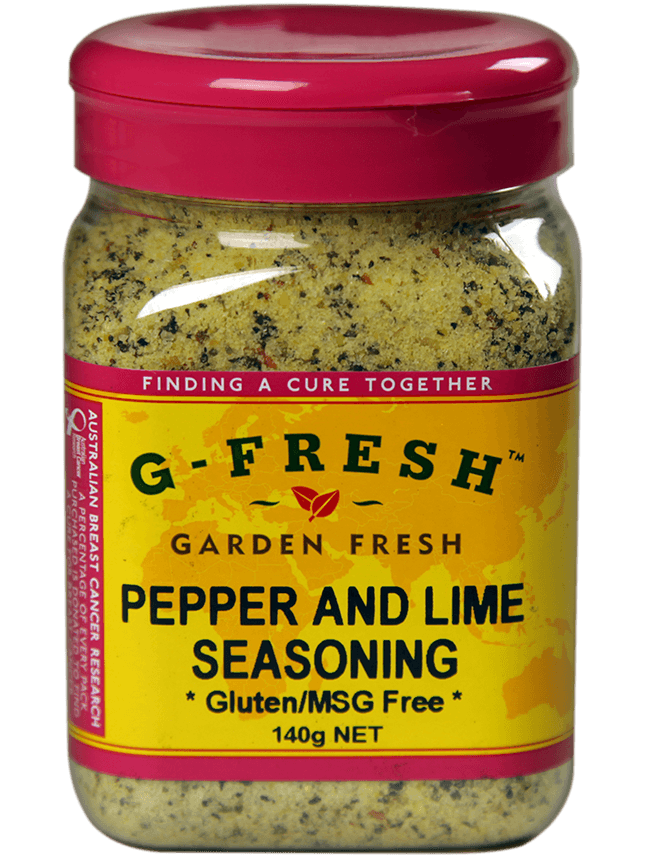 Pepper and Lime Seasoning