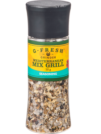 Mediterranean Mix Grill Seasoning