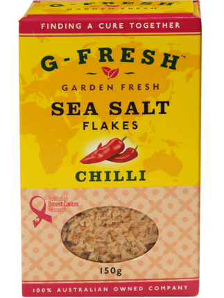 Sea Salt Flakes (Chilli)