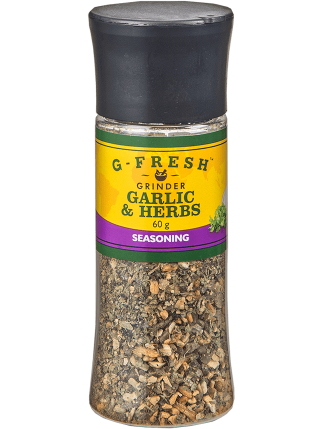 Garlic and Herbs Seasoning small grinder