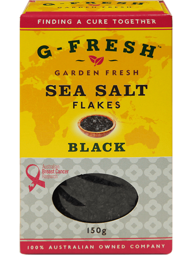 Sea Salt Flakes (Black)