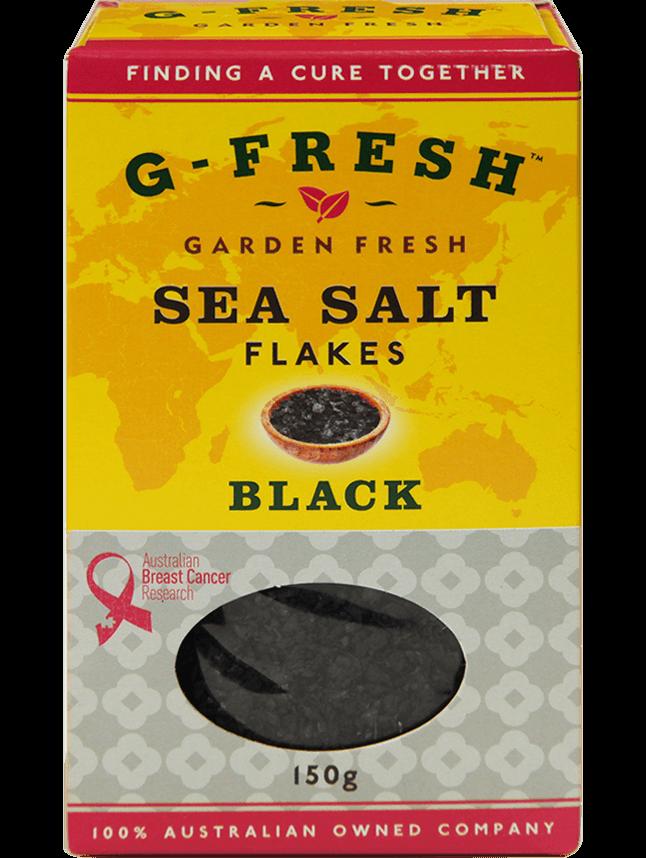 Sea Salt Flakes (Black)