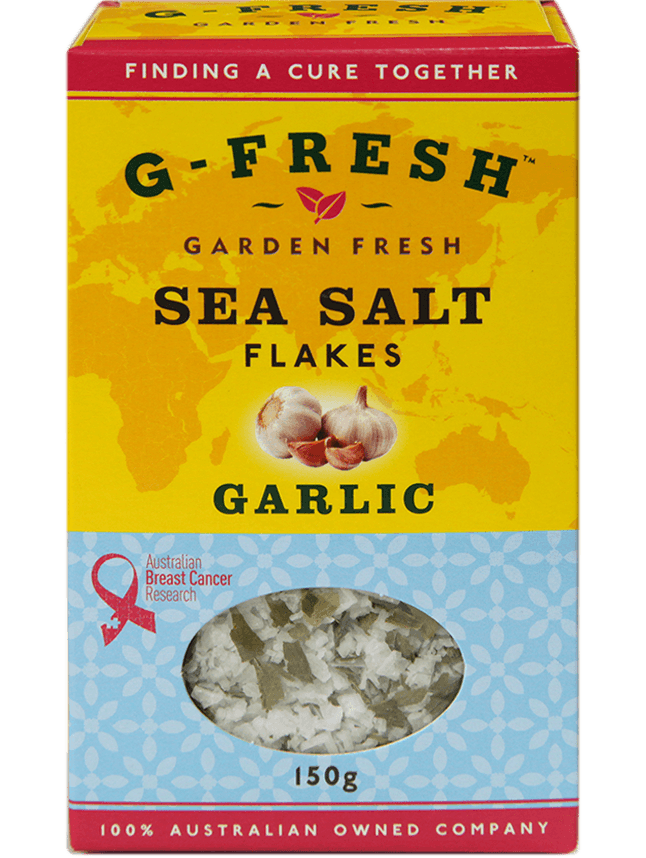 Sea Salt Flakes (Garlic)